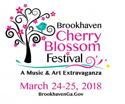 Brookhaven Cherry Blossom Festival March 24-25, Blackburk Park